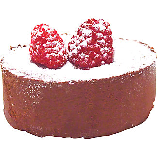 Central Market Mini Chocolate Raspberry Truffle Cake,4 OZ