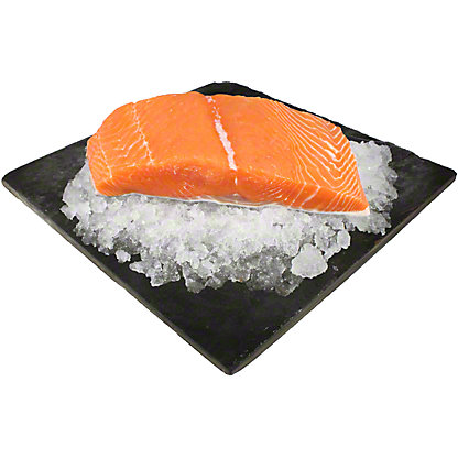 Fresh King Salmon Fillet, LB