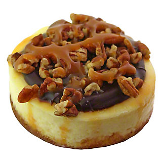 Central Market Mini Turtle Cheesecake,6 OZ