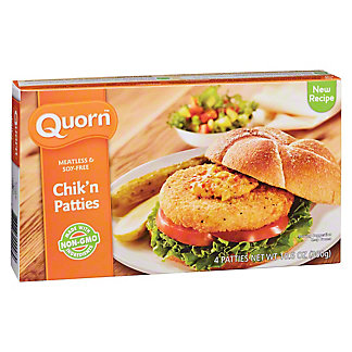 Quorn Meatless and Soy-Free Chik'n Patties, 10.6 oz