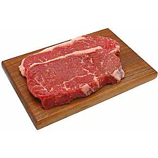 Natural Angus Beef Choice New York Strip Steak Thin,LB
