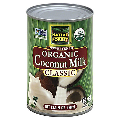 Native Forest Classic Unsweetened Organic Coconut Milk, 13.5 OZ