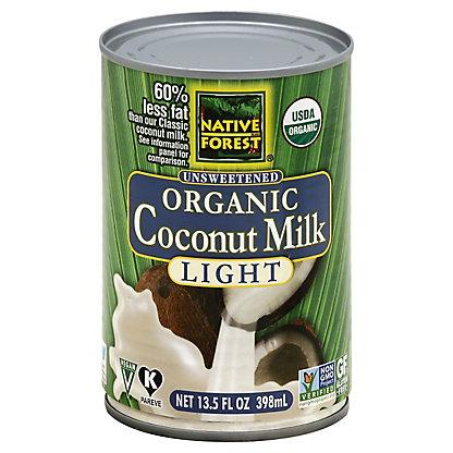 Native Forest Organic Coconut Milk Light,14 OZ.