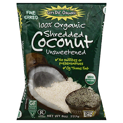 Let's Do Organic Unsweetened Organic Coconut,8.8 OZ