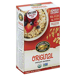 Natures Path Organic Hot Oatmeal Original, 8.00 ea
