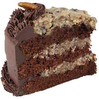 Central Market German Chocolate Cake Slice, 7 oz