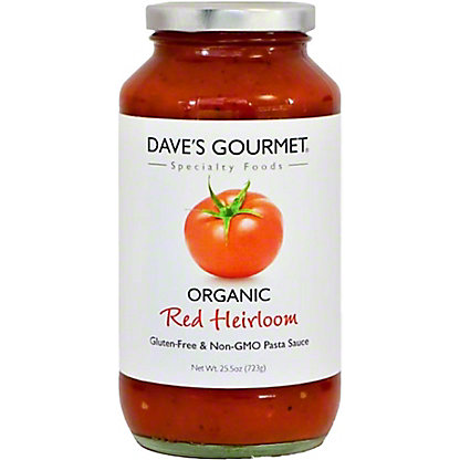 Dave's Gourmet Red Heirloom Organic Pasta Sauce,25.5 oz