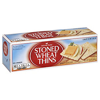 Red Oval Farms Stoned Wheat Thins Crackers,10.6 oz