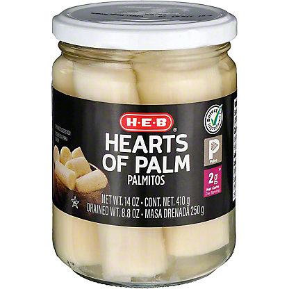 H-E-B Hearts of Palm,14.4 OZ