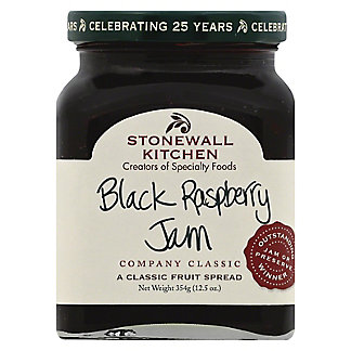 Stonewall Kitchen Black Raspberry Jam,12.5 OZ