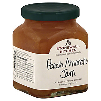 Stonewall Kitchen Stonewall Kitchen Jam Peach Amaretto, 12.50 oz