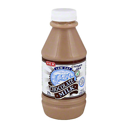 H-E-B Low Fat Chocolate 1% Milkfat Milk,1 PT