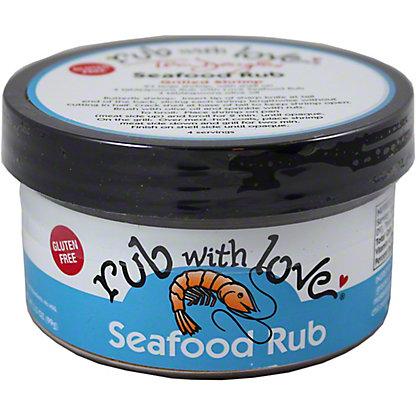 Rub with Love Seafood Rub, 3.50 oz
