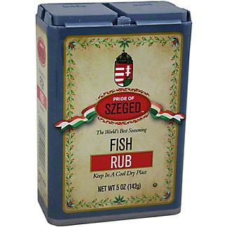 Pride of Szeged Fish Rub, 5.00 oz