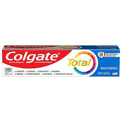 Colgate Total Whitening Anticavity Fluoride & Antigingivitis Toothpaste,6 OZ