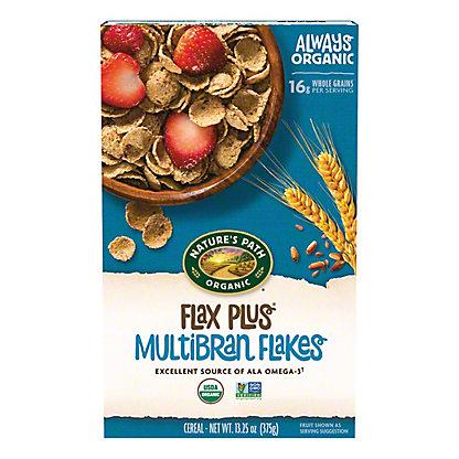 Nature's Path Organic Flax Plus Multibran Flakes Cereal, 13.25 oz