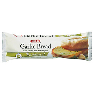H-E-B Traditional Garlic Bread,8.00 oz