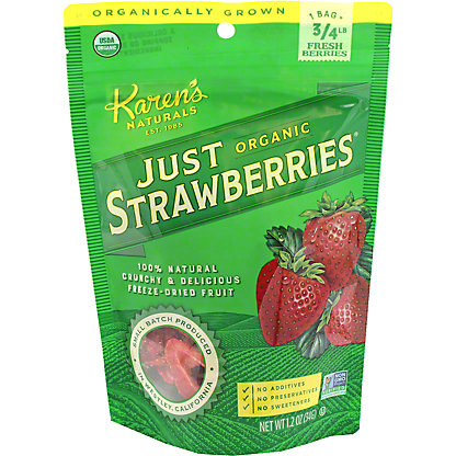 Just Tomatoes, Etc.! Organic Just Strawberries,1.20 oz