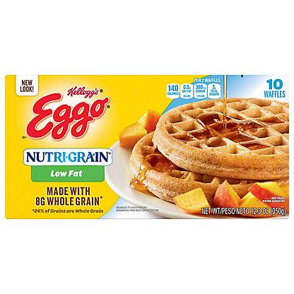 Eggo Nutrigrain Low Fat Whole Grain