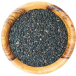 Southern Style Spices Whole Black Sesame Seeds, sold by the pound