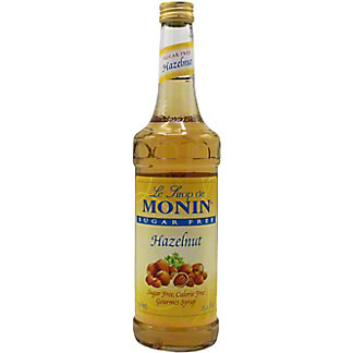 Monin Sugar Free Hazelnut, 24.5 oz