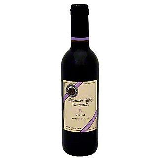 Alexander Valley Vineyards Merlot, 375 mL
