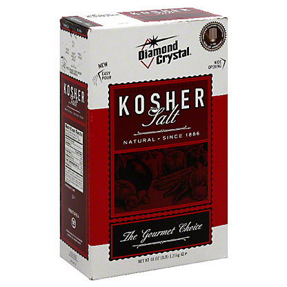 Diamond Crystal Kosher Salt,3 LBS