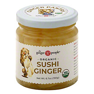 The Ginger People Pickled Sushi Ginger, 6.7 oz