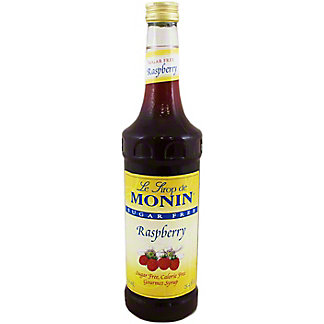 Monin O'Free Raspberry Syrup,750 ML