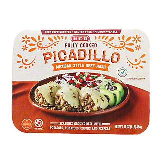 H-E-B Fully Cooked Taqueria Style Picadillo, 16 oz