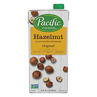 Pacific Hazelnut All Nat Non-Dairy Original Beverage, 32 OZ.