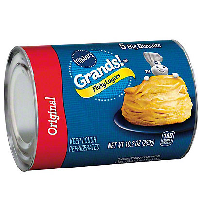 Pillsbury Grands! Flaky Layers  Original Biscuits, 5 ct