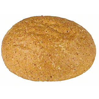 Wheat Hamburger Bun, ea