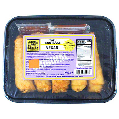 Banyan Foods Egg Rolls, 15 OZ