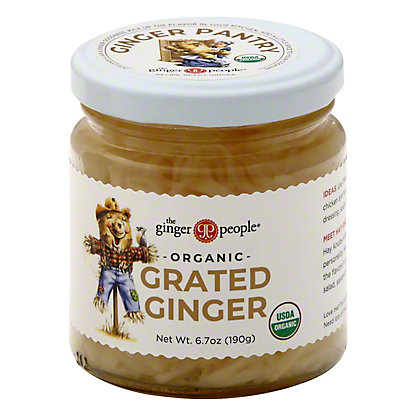 The Ginger People Organic Grated Ginger,6.7 OZ