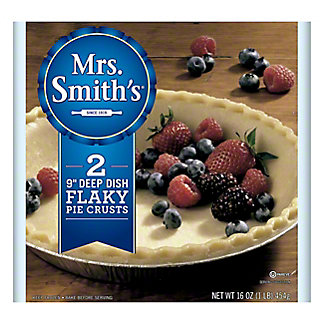Mrs. Smith's 9 in Flaky Homestyle Deep Dish Pie Shells, 2 ct
