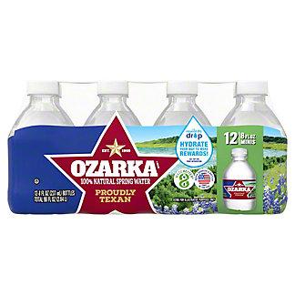 Ozarka Ozarka 100% Natural Spring Water 12 PK,8 OZ