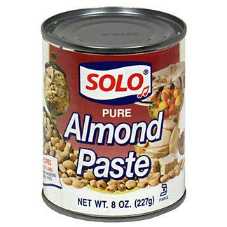 Solo Pure Almond Paste,8 OZ