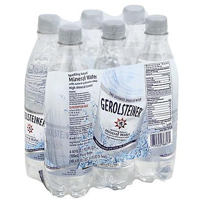 Gerolsteiner Mineral Water,6 PK - 16.9 OZ