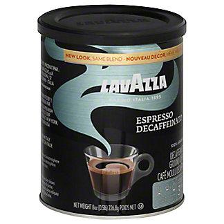 LavAzza Espresso Decaffeinated Ground Medium Coffee,8 OZ