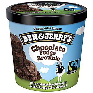 Ben & Jerry's Chocolate Fudge Brownie Ice Cream,3.6 OZ