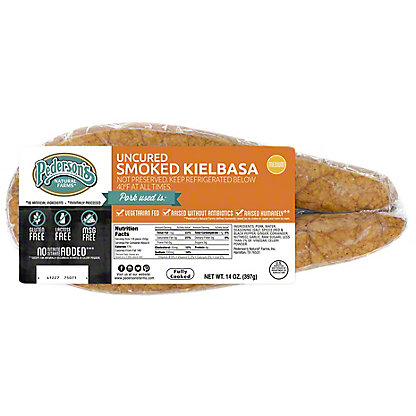 Pederson's Uncured Kielbasa Smoked Sausage,14 OZ