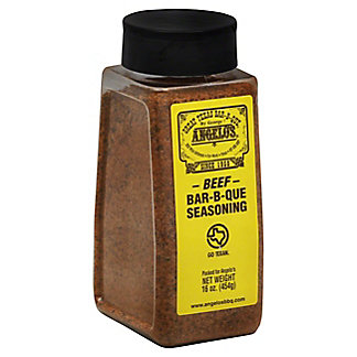 Angelo's Bar-B-Que Seasoning for Beef, 16 oz