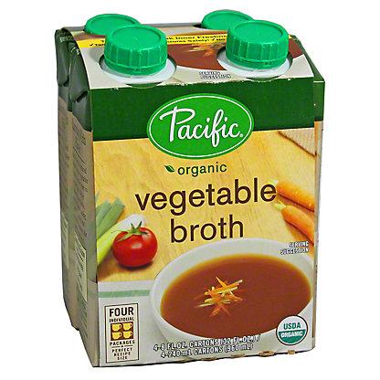 Pacific Organic Broth Vegetable,4.00 'ea'