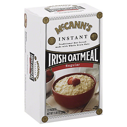 McCann's Instant Regular Flavor Irish Oatmeal, 11.8 oz