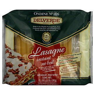 Delverde Instant No Boil Lasagne,17.6 OZ