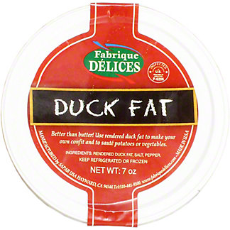 F DELICES RENDERED DUCK FAT