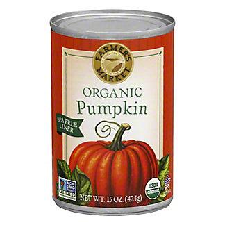 Farmer's Market Organic Pumpkin,15 OZ