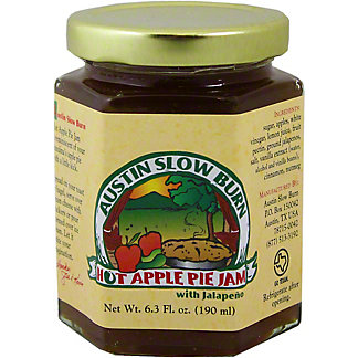 Austin Slow Burn Hot Apple Pie Jam, 6.3 OZ