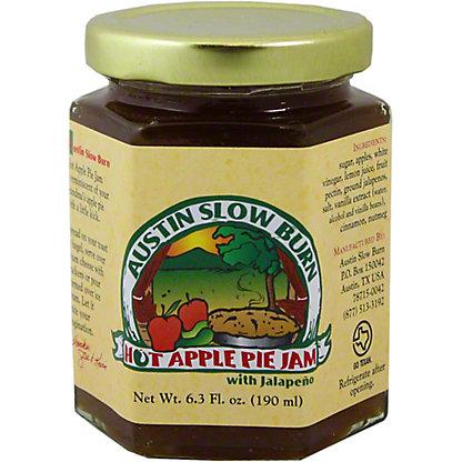 Austin Slow Burn Hot Apple Pie Jam, 6.3 OZ